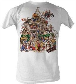 Animal House T-Shirt ? House Adult White Tee Shirt