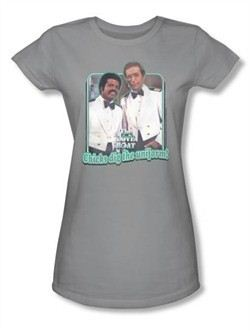Love Boat Juniors Shirt Dig The Uniform Silver T-Shirt
