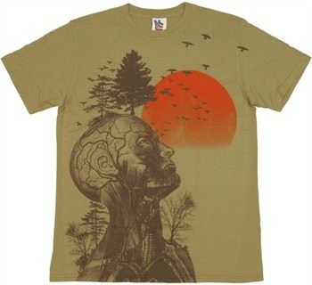 Hangover Alan Costume Human Tree T-Shirt Sheer by JUNK FOOD
