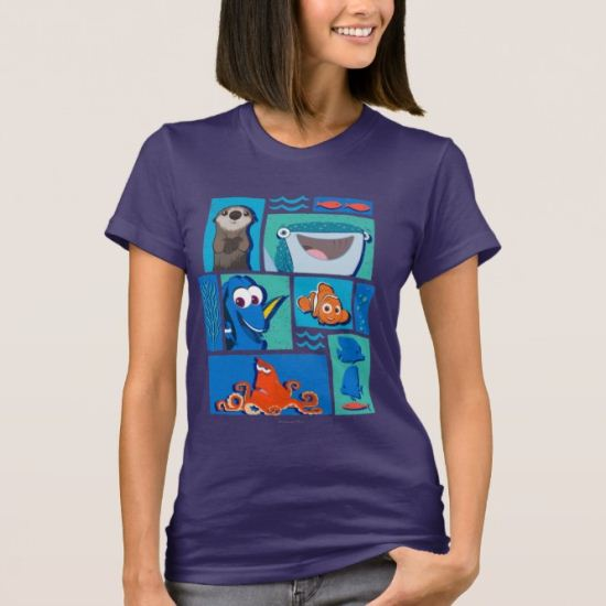 Finding Dory   Group of Characters T-Shirt