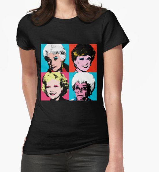Golden Warhol Girls T-Shirt by Retro Freak T-Shirt