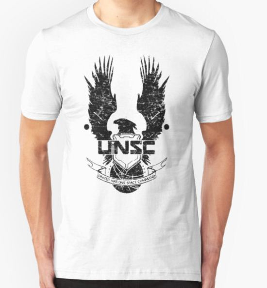 UNSC LOGO HALO 4 - GRUNT DISTRESSED LOOK T-Shirt by Republica T-Shirt