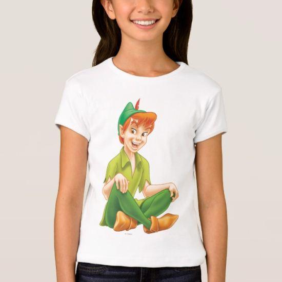 Peter Pan Sitting Down T-Shirt
