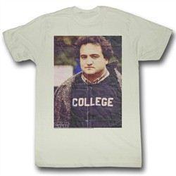 Animal House Shirt Folded Up Adult Natural Tee T-Shirt