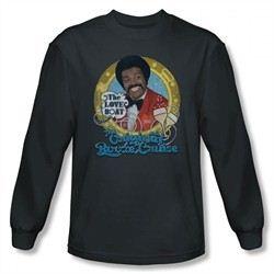 The Love Boat Shirt Booze Cruise Long Sleeve Charcoal T-Shirt