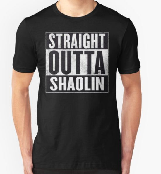 "straight outta Shaolin ""Staten Island"" T-Shirt by MynameisJEFF T-Shirt"