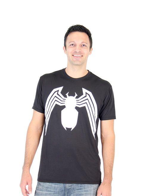 Spiderman Spider-Man Venom Leggs Marvel Front Only T-Shirt