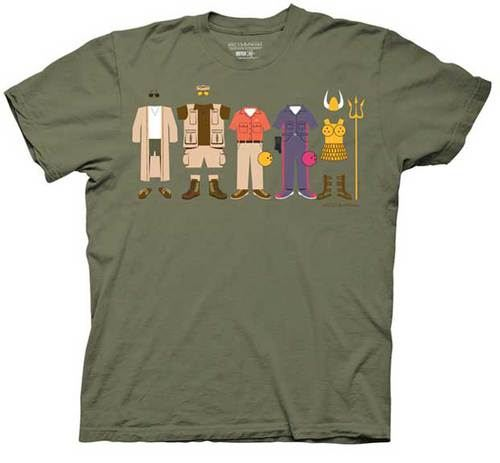The Big Lebowski Group Clothing Light Olive Green Adult T-shirt