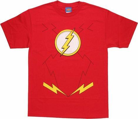 Flash New 52 Costume T Shirt