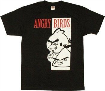 Angry Birds Birdface T-Shirt