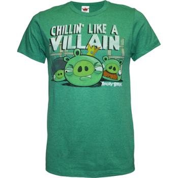 Chillin' Like A Villain Angry Birds T-Shirt