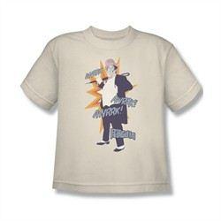 Classic Batman Shirt Kids Penguin Cream T-Shirt