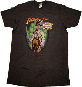 Indiana Jones Humming Theme Song T-Shirt Sheer
