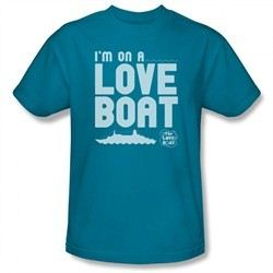 The Love Boat Shirt I'm On A Love Boat Turquoise T-Shirt