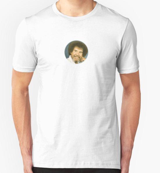 7cac8b74c98 ...  Bob ross  T-Shirt by kappaor T-Shirt.