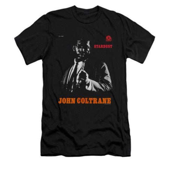 John Coltrane Shirt Slim Fit Star Dust Black T-Shirt