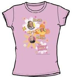 The Brady Bunch Marcia Juniors Fitted Girly T-Shirt