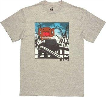 Domo-Kun Roller Coaster T-Shirt