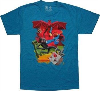 Minecraft Sam Cube Battle T-Shirt