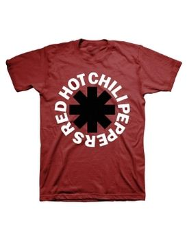 Red Hot Chili Peppers Black Asterisk Men's T-Shirt