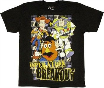 Disney Toy Story Operation Breakout T-Shirt Sheer