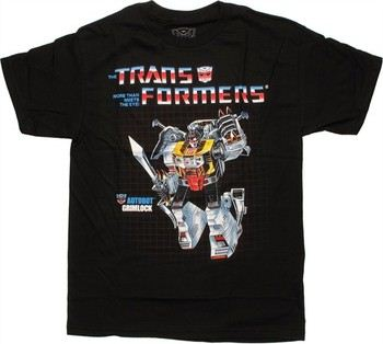 Transformers Grimlock G1 Box Art T-Shirt