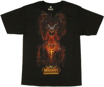 World of Warcraft Cataclysm Deathwing T-Shirt