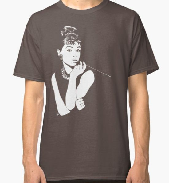 Audrey Classic T-Shirt by Tom  Ledin T-Shirt