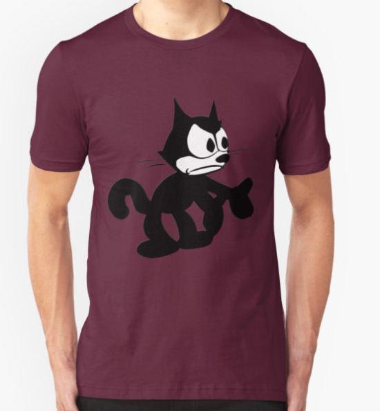 Felix the Cat Fed up T-Shirt by Czerra T-Shirt
