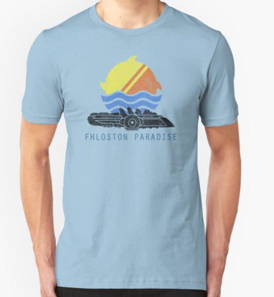 Fhloston Paradise T-Shirt by chazy73 T-Shirt