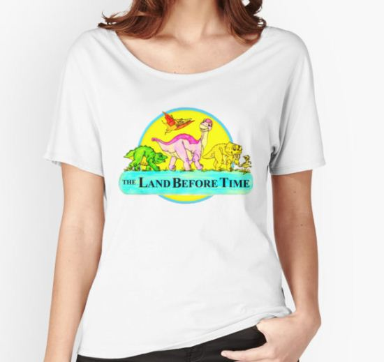 The Land Before Time Women's Relaxed Fit T-Shirt by Milly2015 T-Shirt