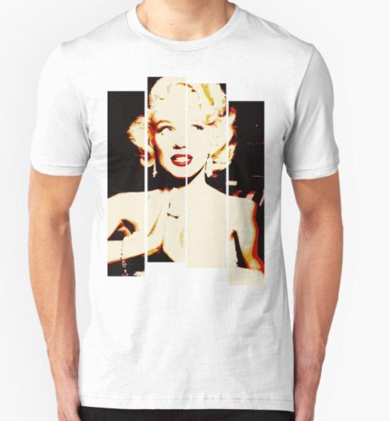 Marilyn Monroe T-Shirt by GirlsnGuns T-Shirt