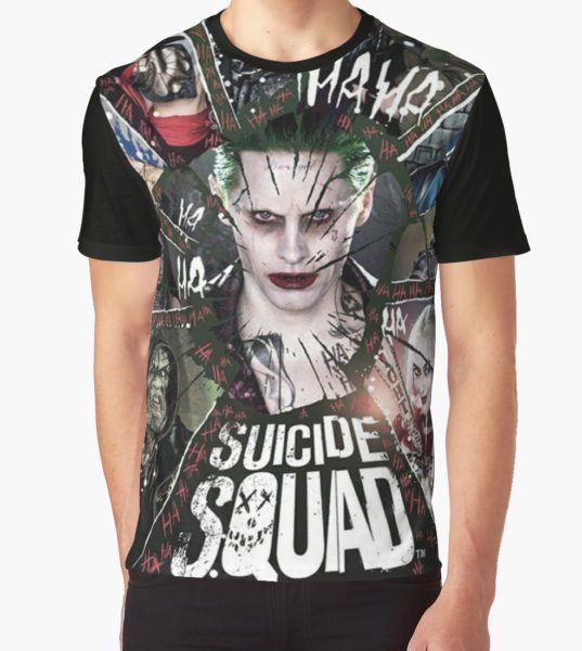 Suicide Squad Graphic T-Shirt by jones1 T-Shirt