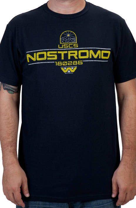 Nostromo Alien Shirt