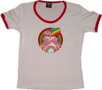 Care Bears Cheer Bear Babydoll Tee