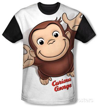 Youth: Curious George - Hands In The Air(black back)