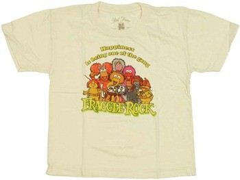 Fraggle Rock Happiness is Being One of the Gang Juvenile T-Shirt