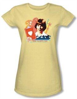 Love Boat Juniors Shirt Here To Serve Banana T-Shirt