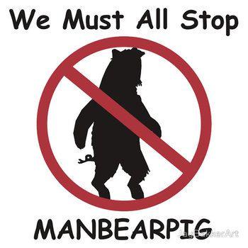 MANBEARPIG (South Park) (Al Gore)