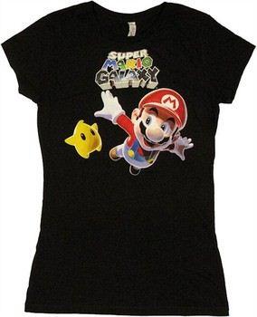 Nintendo Super Mario Galaxy Fly Baby Doll Tee