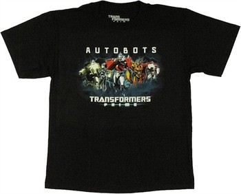 Transformers Prime Autobots Team Youth T-Shirt