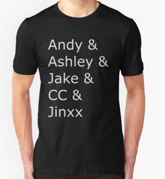 Black Veil Brides Tee T-Shirt by Falling T-Shirt