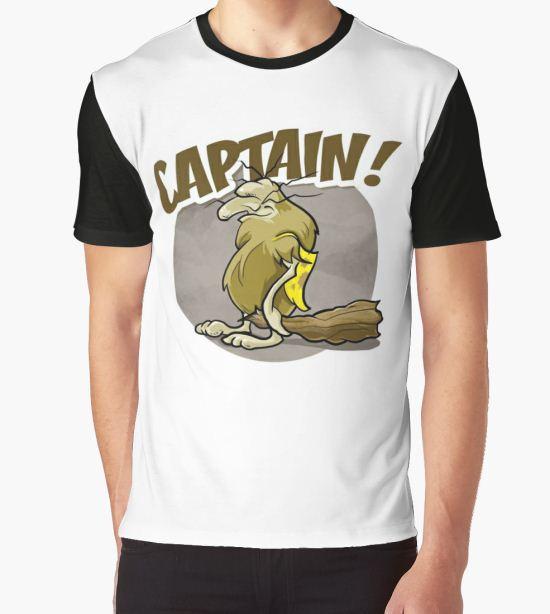 CAPTAIN! Graphic T-Shirt by bebo1127 T-Shirt