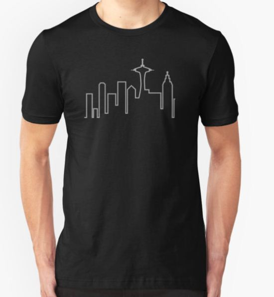 Frasier - Skyline T-Shirt by gunslinger87 T-Shirt