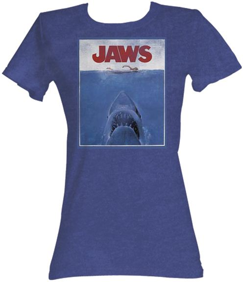 JAWS Movie Poster Royal Navy Juniors T-Shirt