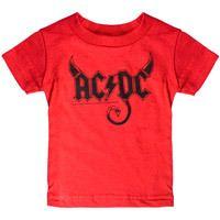 AC/DC Horns Kids Tee