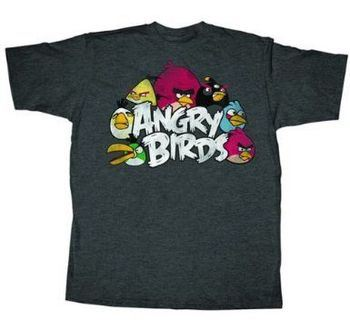 ANGRY BIRDS STAR WARS GREEN NEST YOUTH TEE OFFICIAL LICENDED