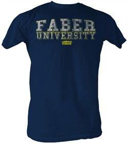Animal House Shirt Faber University Germans Navy Tee Shirt