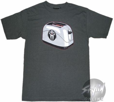 Battlestar Galactica Toaster T-Shirt