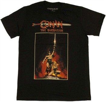 Conan the Barbarian Poster T-Shirt Sheer